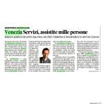 Art. La Nuova Venezia 22 Nov. 2014